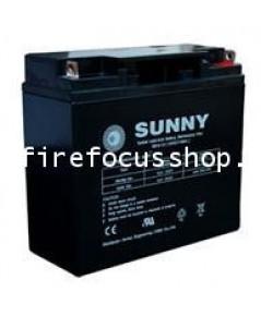 แบตเตอรี่แห้งชนิดตะกั่วกรดขนาด 12V-21AH ยี่ห้อ Sunny