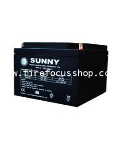 แบตเตอรี่แห้งชนิดตะกั่วกรดขนาด 12V-26AH ยี่ห้อ Sunny