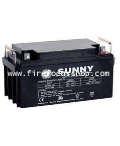 แบตเตอรี่แห้งชนิดตะกั่วกรดขนาด 12V-65AH ยี่ห้อ Sunny