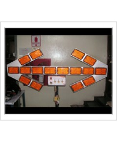 ป้ายไฟเตือนอุบัติเหตุ รุ่น LED (Accident Protection Light) 12VDC, 24VDC, 220V