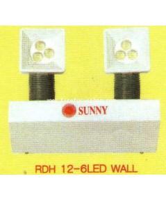รีโมทแลมป์หลอด LED  แบบยึดติดกำแพงและแบบยึดเพดาน รุ่น RSM-LED 2 หลอด ยี่ห้อ Sunny