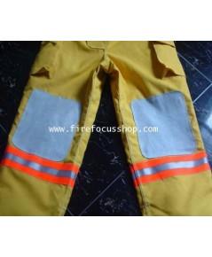 กางเกงดับเพลิง 3 ชั้นผ้า Normex มาตราฐาน EN469 และ ISO9001 รุ่น J2810