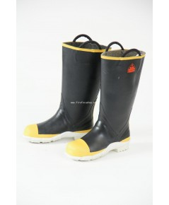 รองเท้าบู๊ทยางดับเพลิง แบบหูหิ้ว ทนแรงกระแทกได้มาตรฐาน บุผ้า Kevlar/Nomex  รุ่น GF-200