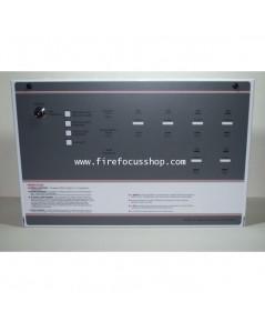 ตู้ควบคุมแจ้งเตือนเพลิงไหม้ 6 Zone รุ่น FF384-2+1 ยี่ห้อ Will (UK)
