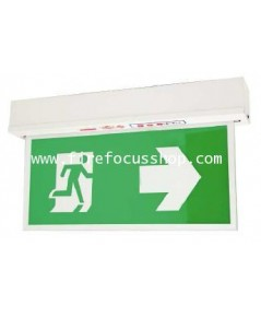 ป้ายไฟฉุกเฉินชนิด Slim line สองหน้าแบบ Surface หลอด LED รุ่น SLA288LED ยี่ห้อ Sunny