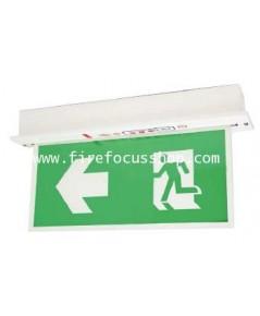 ป้ายไฟฉุกเฉินชนิด Slim line สองหน้าแบบ Ceiling หลอด LED รุ่น SLB288LED ยี่ห้อ Sunny