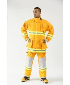 ชุดดับเพลิงทรงโกลแฟ็บผ้า NomexIIIA7.5oz มาตรฐาน EN469:2005