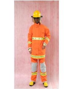ชุดดับเพลิงทรงประหยัดผ้า NomexIIIA7.5oz มาตรฐาน EN469:2005