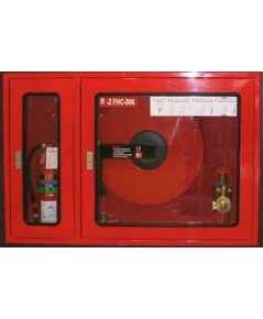 ตู้ร่วมสายส่งน้ำดับเพลิงกับถังดับเพลิง (Hose Reel and Fire Extingquisher Combine Cabinet)