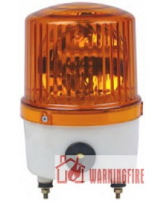 ไฟหมุนพร้อมเสียงไซเรน 220V ขนาด 5 นิ้ว (Rotator Warning Light and Siren) รุ่น WL-11BSJ ยี่ห้อ Warnin