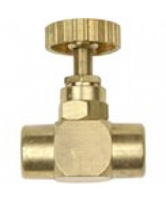 WEISS Needle Valve model 25NVBR Bass 1/4 inch. NPT