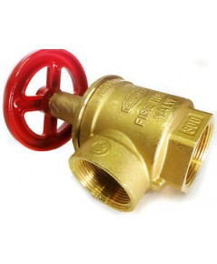 GIACOMINI model A55 Angle valve size 2.5 inch, brass, NPT thread,UL/FM approved for 300 psi.,w.p.