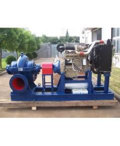HORIZONTAL SPLITCASE PUMP 1000 GPM x 130 PSI, 2900 RPM. MODEL : DS2-200-125-400 ยี่ห้อ STAC
