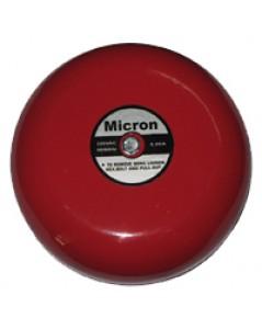 กระดิ่งเตือนไฟไหม้ขนาด 6 นิ้ว 220VAC.ยี่ห้อ Micron