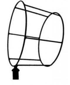 โครงเหล็กสำหรับถุงลมบอกทิศทางเส้นผ่าศูนย์กลาง 50,45,30 cm.