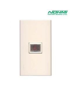 อุปกรณ์กำเนิดสัญญาณเตือนและไฟแสดงตำแหน่ง รุ่น FLL061-B ไฟแสดงการทำงาน ยี่ห้อ NOHMI (2018)