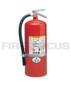 ถังดับเพลิง ชนิดผงเคมีแห้ง ยี่ห้อ Badger มาตรฐาน UL