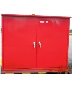 ตู้เก็บสายส่งน้ำดับเพลิงและอุปกรณ์แบบนอกอาคารตู้ทึบ 90x120x40 cm.(ไม่รวมอุปกรณ์)
