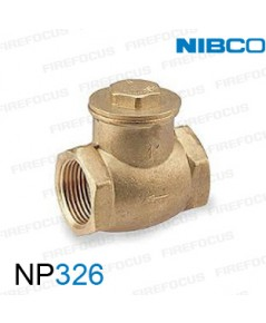 Bronze Check Valve รุ่น NP326 , threaded ends 300psi 2\quot; ยี่ห้อ Nibco