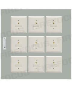 9 Modules (W54 x H53 x D12 CM) Local Box Module Panel with wiring terminal