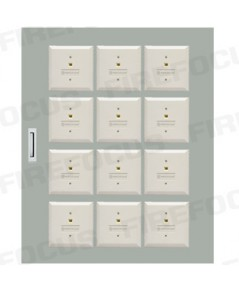 12 Modules (W54 x H66 x D12 CM) Local Box Module Panel with wiring terminal