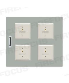 4 Modules (W40.5 x H40 x D12 CM) Local Box Module Panel with wiring terminal