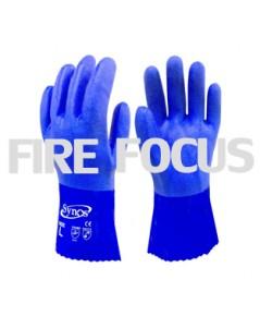 ถุงมือเคลือบ PVC รุ่น 1380 ยี่ห้อ Synos
