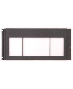 NOTIFIER Dress plate, display, black. model.DPDISP-2