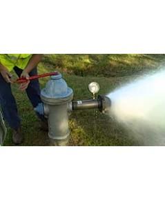 รับบริการตรวจวัดค่าอัตราการไหล(GPM) และแรงดันของหัวจ่ายน้ำดับเพลิง และปลายสายส่งน้ำดับเพลิง
