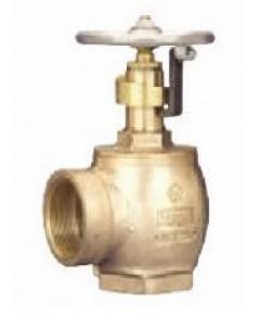 แองเกิ้ลวาล์วทองเหลืองพร้อม Pressure restri 1.5 นิ้ว.รุ่น 18-154 ยี่ห้อ DIXON-POWHATAN มาตรฐาน UL/FM