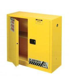 ตู้จัดเก็บสารเคมี 30 gallon ขนาด 44x43x18นิ้ว1 ชั้นวาง รุ่น 893000 ยี่ห้อ Justrite Approve : FM,UL,N