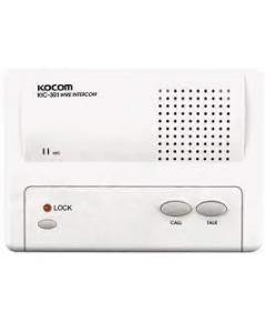 KOCOM KIC-301 Iintercom (Main 1CH), ใช้ Adaptor DC6V (battery) หรือ ใช้ถ่ำน AA 4 ก้อนได้