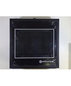 NOTIFIER Annunciator Surface mount backbox Two modules Attractive glass door-key lock.model.ABS-2DB
