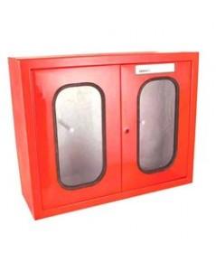 ตู้เก็บสายส่งน้ำดับเพลิงคู่แบบแขวนลอยในอาคาร ขนาด 800x1200x350 mm.