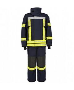 ชุดเสื้อ-กางเกง พนักงานดับเพลิงแบบ ผ้า 3 ชั้น FRC รุ่น FireBrave ยี่ห้อ IST