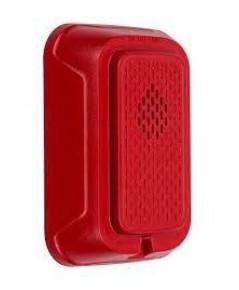 SYSTEMSENSOR Horn, Wall, Red model.HRL