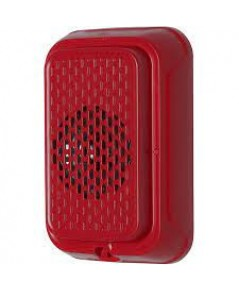 SYSTEMSENSOR Horn, Wall, Red, Compact model.HGRL