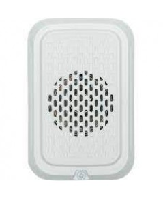 SYSTEMSENSOR Horn, Wall, White, Compact model.HGWL