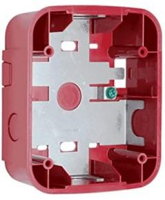 SYSTEMSENSOR Wall Surface Mount Back Box, Red model.SBBRL