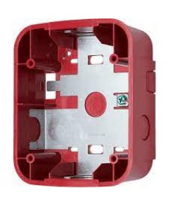 SYSTEMSENSOR Wall Speaker Surface Mount Back Box, Red model.SBBSPRL