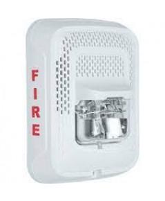 SYSTEMSENSOR Speaker / Strobe, Wall, Selectable Cendela, White model.SPSWL