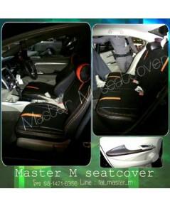 ชุดหุ้มเบาะรถยนต์ Master M ซิตี้ 2010