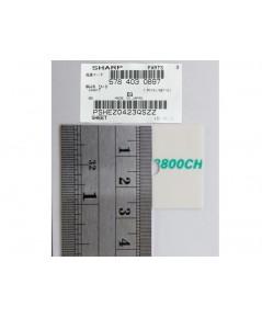 ยางแยกกระดาษ ADF SEPARATION PAD SHARP AR5731/6131/MX-M314/M261
