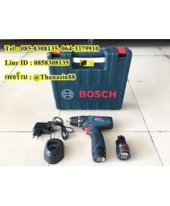 สว่านกระแทกไร้สาย Bosch รุ่น GSB 120-LI