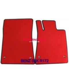 พรมปูพื้นรถยนต์ แบบพรมผ้า BENZ SLK R172