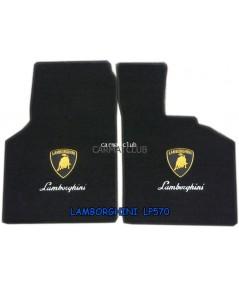 พรมปูพื้นรถยนต์ แบบพรมผ้า LAMBORGHINI LP570