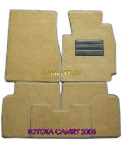 พรมปูพื้นรถยนต์ แบบพรมผ้า TOYOTA CAMRY 2002-06