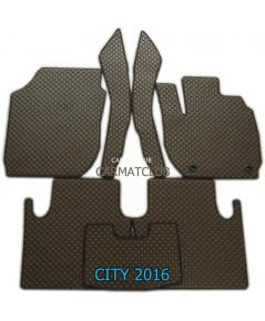 ยางลายกระดุม เกรดPremium Honda City 2016