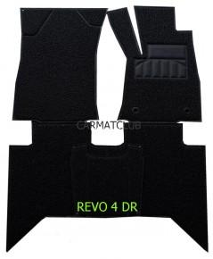 พรมดักฝุ่น เกรดA Toyota Revo 4ประตู รุ่นเกียร์ออโต้