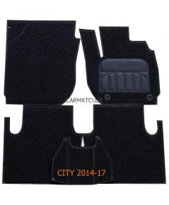 พรมดักฝุ่น เกรดA Honda City 2014-17